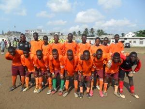 benin foot academy 4e place en 2013