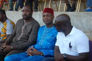 Chabi YAYI, fils du chef de l'Etat, le Député David GBAHOUNGBA et Mounirou DAOUDA