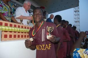kozaf médaille d'or 1