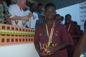 kozaf médaille d'or 2