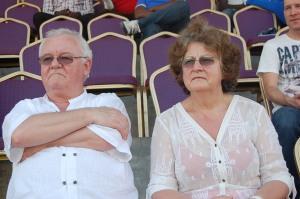 Le DG de la société française Ixel, Jean-François COURTEUSE et son épouse invités spéciaux du tournoi
