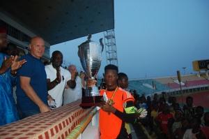 trophée au vainqueur kozaf